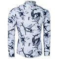 WSGJJ brand new Outono camisa moda de alta qualidade dos homens de roupas masculinas longa-camisa de mangas compridas dos homens Magros casual dos homens camisa impressão