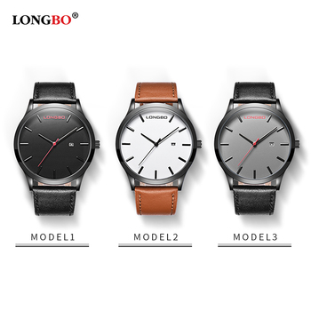 New Arrival Watches Leather Belt Date Calendar Men Waterproof 1