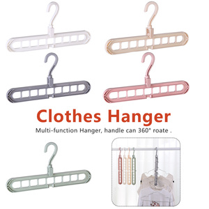 Fashion Accessories Multifunction Plastic Scarf Clothes Drying Rack Clothes Storage Racks Support Circle Clothes Hanger