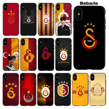 Babaite Turkey Galatasaray Popular Custom TPU Phone Cover for Apple iPhone 5 5S SE 6 6S Plus 7 8 X XS MAX XR Cover(China)