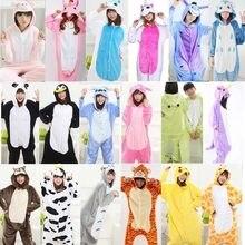 Комбинезоны для пижамы для взрослых Тоторо Kigurumi Onesie пижамы костюм  фланелевые теплые мягкие женские комбинезон Pijama 8c32ab43234ee