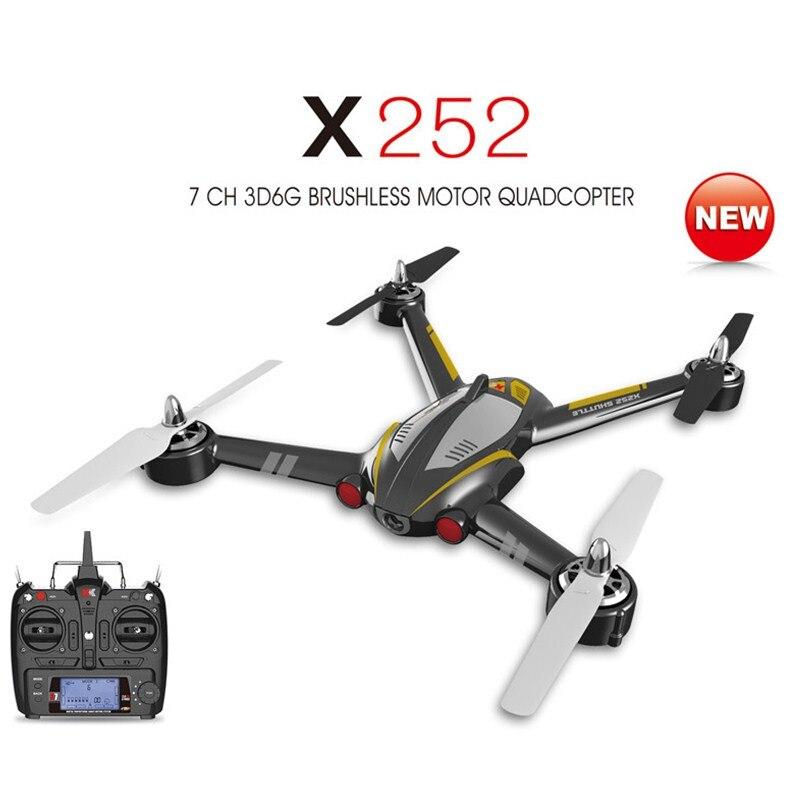 XK X252 RC Quadcopter RTF 2 4G 7CH 5 8G FPV 3D6G with 720P Wide Angle