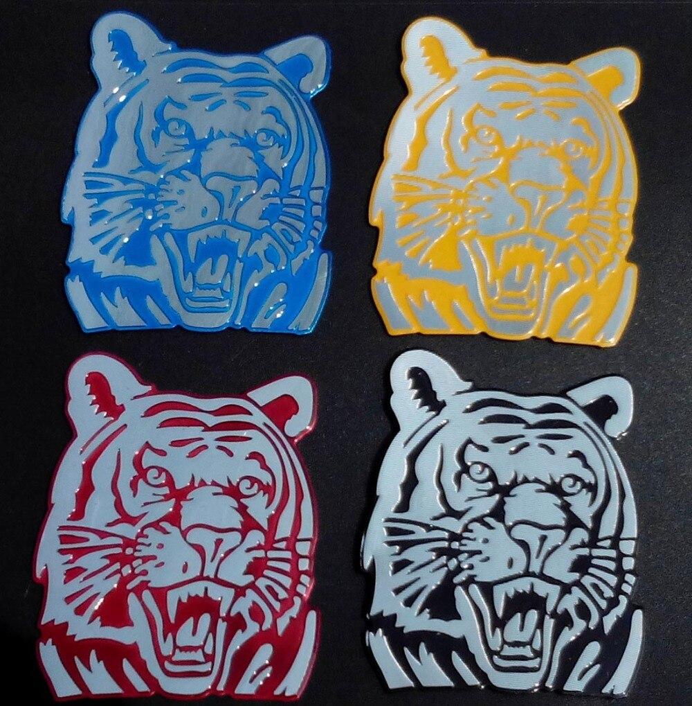 Прохладный Тигр эмблема Алюминиевый значок эмблема наклейка автомобилей стайлинг модифицированный автомобиль наклейки