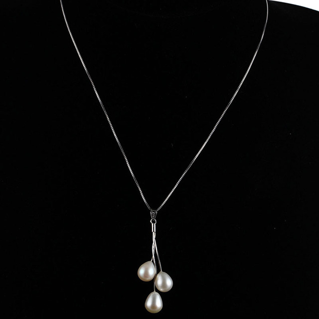 HENGSHENG Hot Selling white pink purple color pearl pendants&necklace for women, 45cm  jewelry pendants