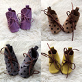 100% Handmade Genuine Leather Baby Shoe Infant booties Infant Moccs