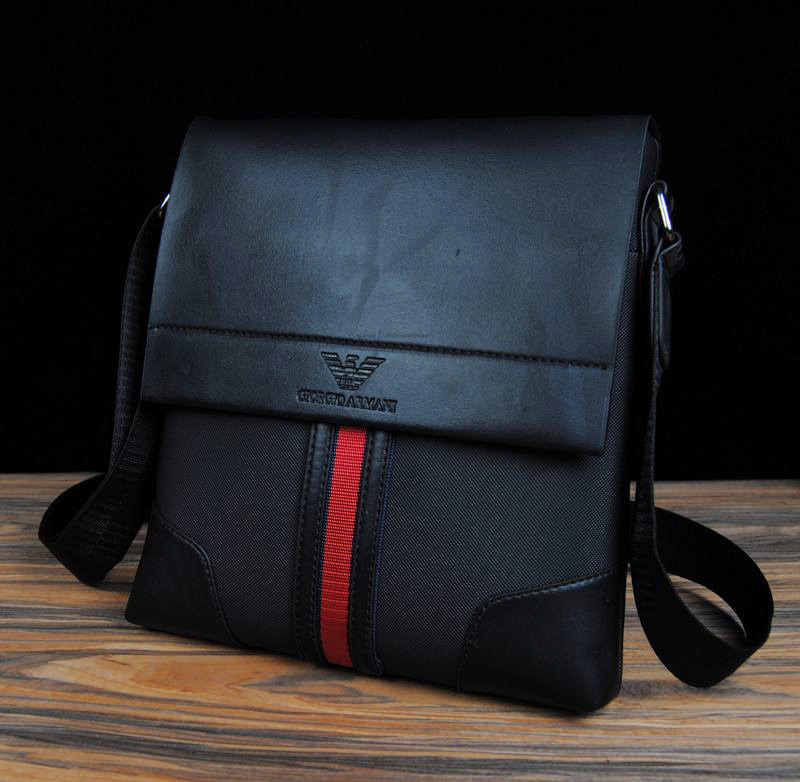 c09331df55ce Free Shipping Men Business Casual PU Leather Messenger Bag High Quality  Shoulder Bag Briefcase Handbag Black Brown Blue BG147