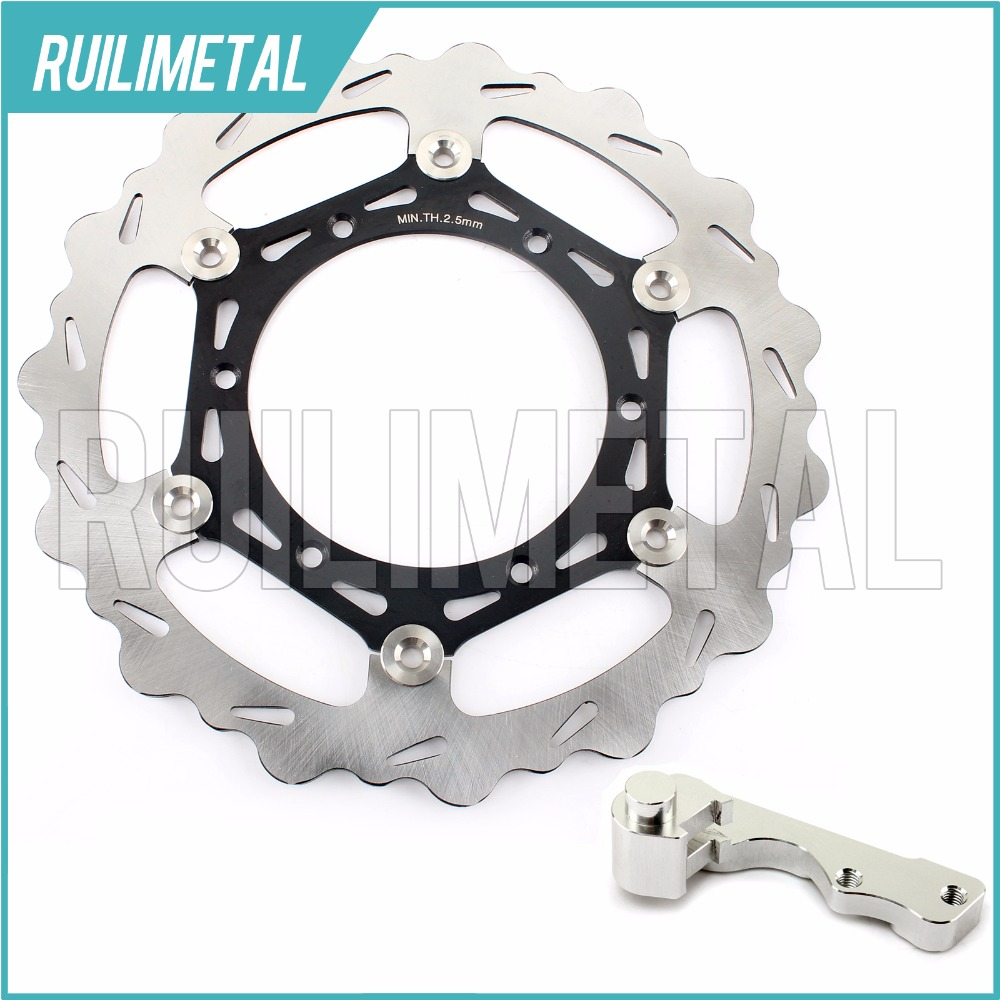 270mm oversize Front Brake Disc Rotor Bracket Adaptor for YAMAHA WR YZ 125 250 F 400 426 450 2003 2004 2005 2006 2007 high quality 270mm oversize front mx brake disc rotor for yamaha yz125 yz250 yz250f yz450f motorbike front mx brake disc