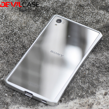 DEVILCASE For SONY XPERIA Z5 Premium Metal Bumper Frame Ultra Thin Protective Cases Z5+ CNC Cutout For Z5 Plus 5.5Inch