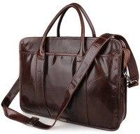 Мужские портфели s пояса из натуральной кожи коричневый 2019 человек сумки 15 Бизнес Винтаж Путешествия плеча через плечо сумочка
