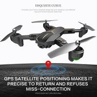 XS812 двойной 11 Wifi FPV Дрон с дроном следом за мной GPS FPV Дрон с видео 1080 P HD Вертолет камеры игрушка на день рождения для детей