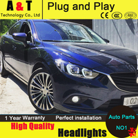 Auto Lighting Style LED Head Lamp For Mazda 6 Led Headlights 2015 New Mazda6 Headlight Led