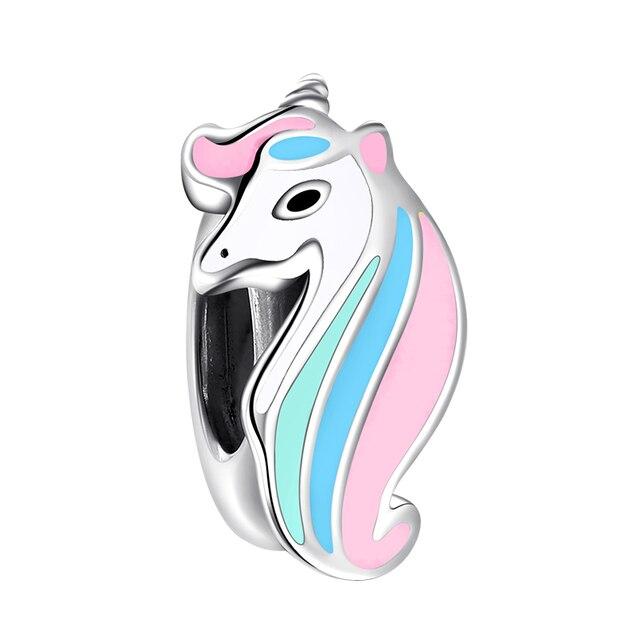 Lucky Unicorn Colorful Beads Fit Bracelet