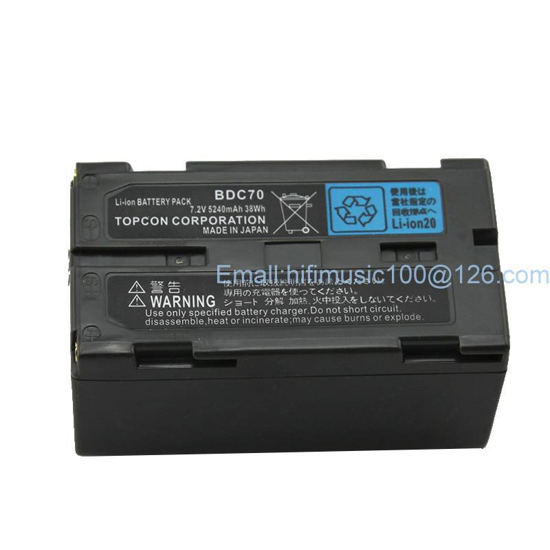 BDC 70 Li ion Battery for Total Station and GPS Surveying Instrument samsung battery core sokkia topcon bdc70 li ion battery 7 2v 5240mah for total station gps
