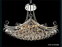 Hot selling Modern crystal chandelier candle pendant lamp dinning lighting
