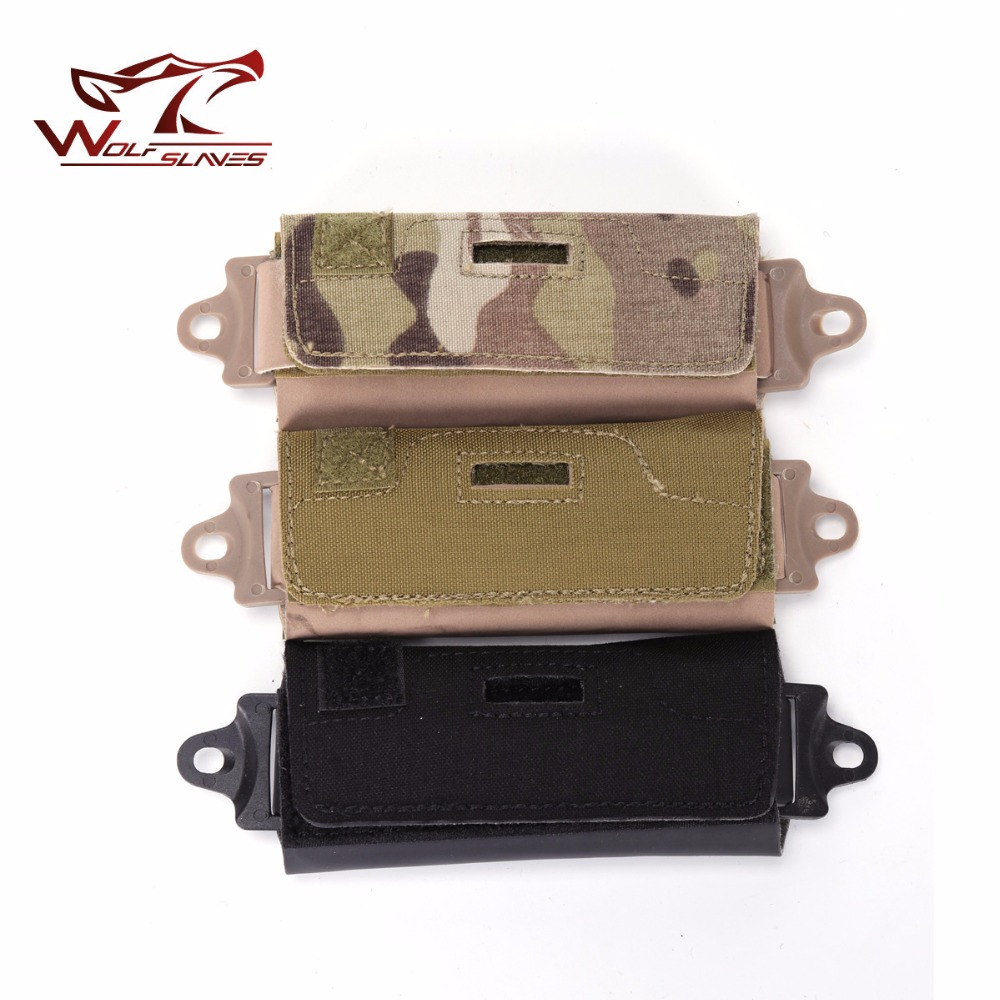 Helmet Accessory Annex Pouch Counter Weight Bag Wargame Airsoft Tactical Utility Pouchfor OPS FAST BJ PJ MH Helmet