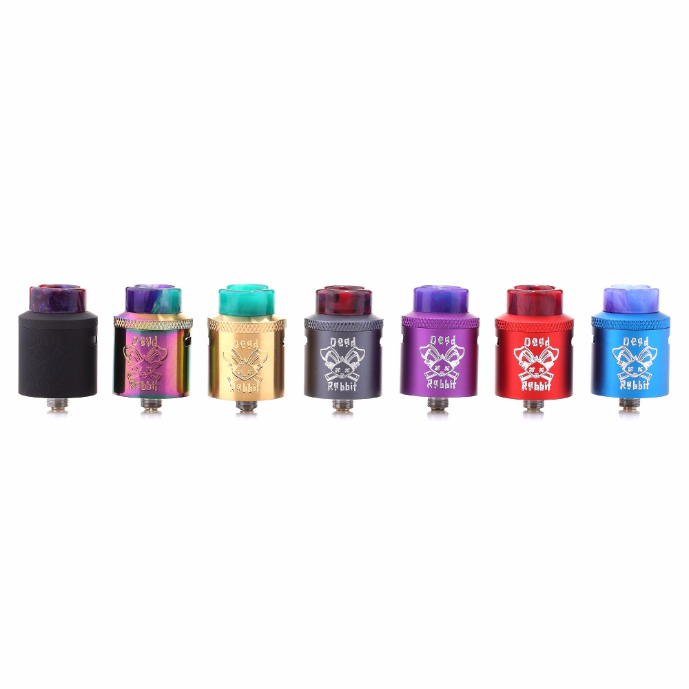 100% original Hellvape Dead Rabbit BF RDA Tank Supports Single/Dual Coil Vape For elctro ...