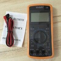 Free shipping handheld digital multimeter AC/DC Ammeter Voltmeter overload protection Automatic shutdown