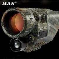 Tactical 5X40 Infrared Night Vision Telescope Military Digital Monocular HD Powerful Weapon Sight Camera Video Function Hunting