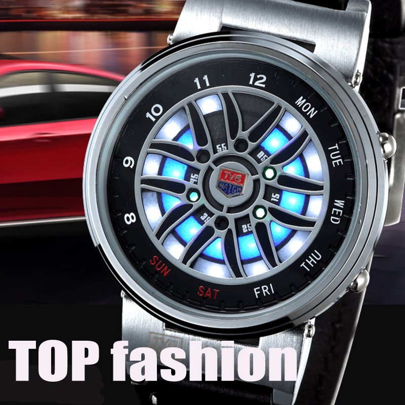 Digital Watches Tvg Pride New Design Led Binary Mens Sport Wrist Watches X6 Waterproof Wholesale China Flash