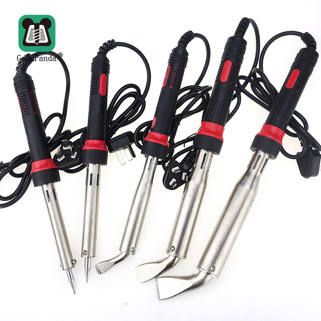 Free Shipping Electric Solder Iron High Power 220V External Heat Handtools Pen Type With Indicator Light 80 300W