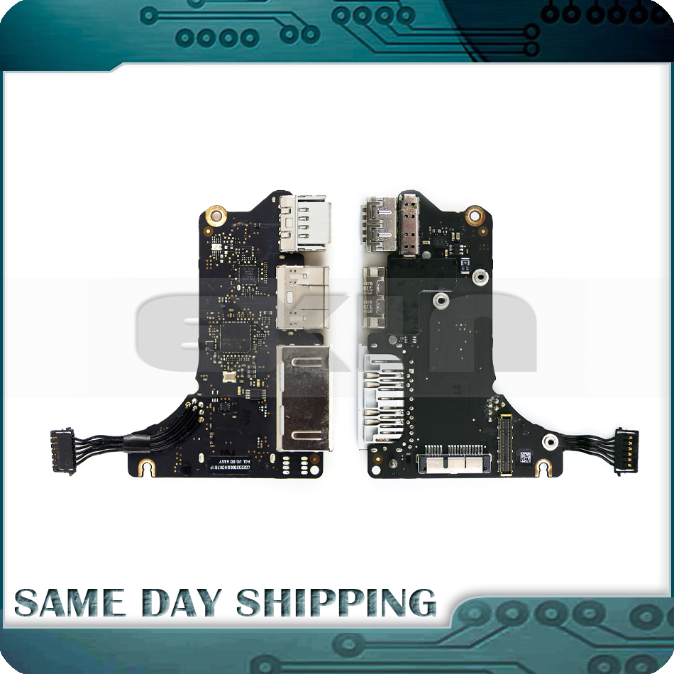 Original Laptop A1425 Board USB HDMI SD I/O Read Card Board for MacBook Pro A1425 13.3 Retina 820-3199-A 661-7012 2012 2013 for macbook air usb i o audio board 820 3213 a 11 laptop a1465 power dc jack md223 md224 2012