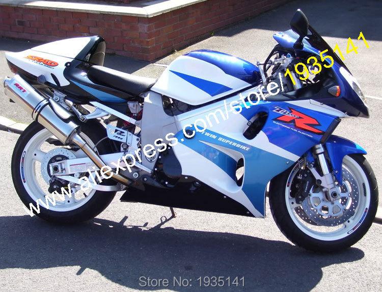 Горячие продаж,для Suzuki TL1000R 1998-2003 части TL1000 98-03 Р ТЛ 1000р синий белый черный мотоцикл обтекатель комплект (литья под давлением)