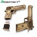 New RoseGold Sliver gun Genuine 4GB 8GB 16GB 32GB USB 2.0 stick pendrive flash drive metal usb flash high speed