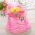 Estilo de Minnie de los bebés Chaquetas y Abrigos de invierno caliente chaquetas abrigos prendas de vestir exteriores de coral con capucha de la historieta ropa de bebé 3 colores