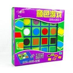 Voar cor AC jogo educativo 5 Treinamento Capacidade de Raciocínio Lógico-7-10 Anos Puzzle brinquedos para crianças presente de aniversário