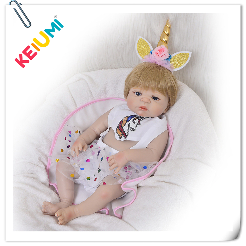 Lucky 23'' Reborn Baby Dolls For Girl Realistic Full Body Silicone Boneca Reborn Cosplay Princess DIY Toy Fashion Birthday Gifts mother to be gift silicone reborn toddlers 22inches solid realistic full body cosplay reborn dolls wholesale