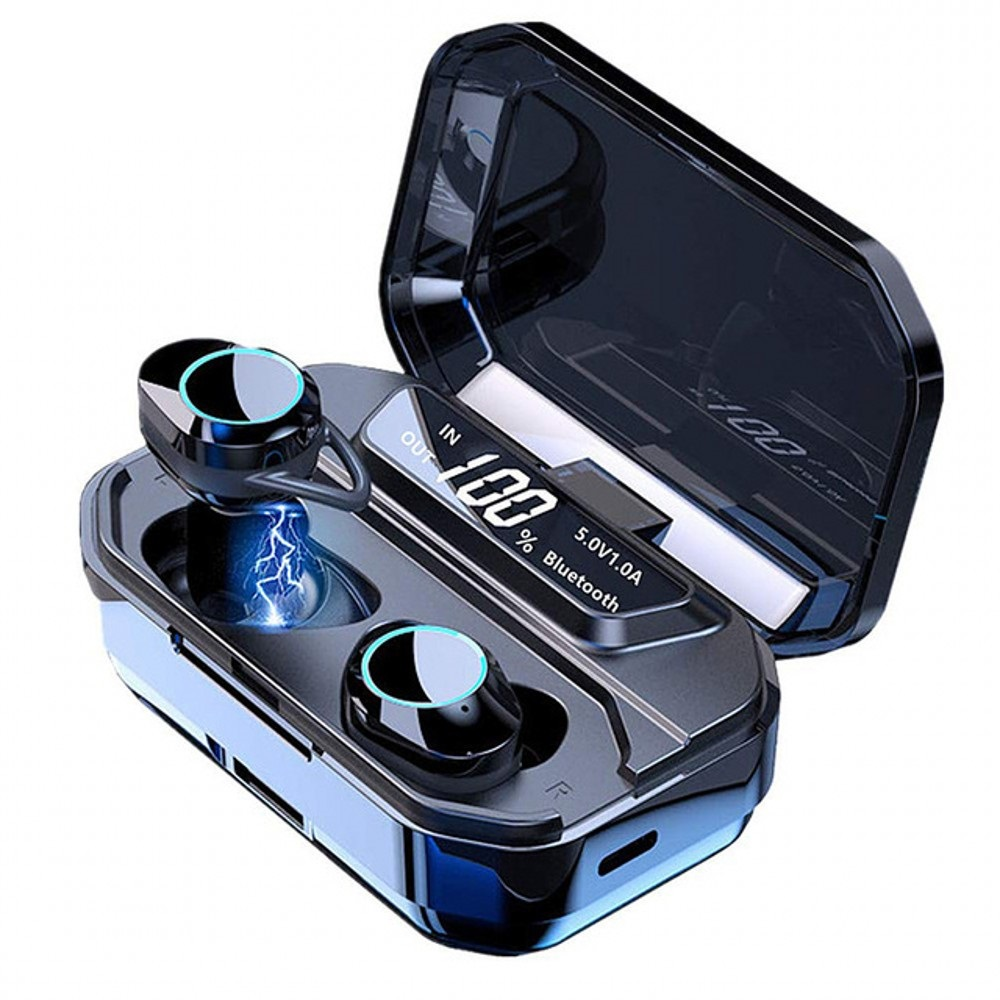 Bluetooth 5 0 Earphones True Wireless Earbuds Waterproof Sport Earpods Handsfree Headset for Apple iPhone Android