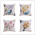 Newest Nordic Style Home Decor Cushion Pillow Bird Printed Seat Home Decorative Throw Pillows Fashion Cushions Fundas Cojines