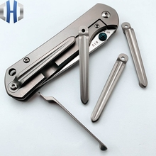 Back Clip Titanium 812 Alloy One-piece 901 902 9103 Knife