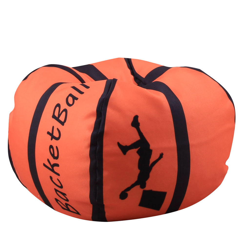 Reasonable 26-inch Football Shaped Storage Bag Stuffed Animal Bean Bag Kids Clothes Toy Organizer Baseball Basketball Clothes Storage Bag Clothing & Wardrobe Storage