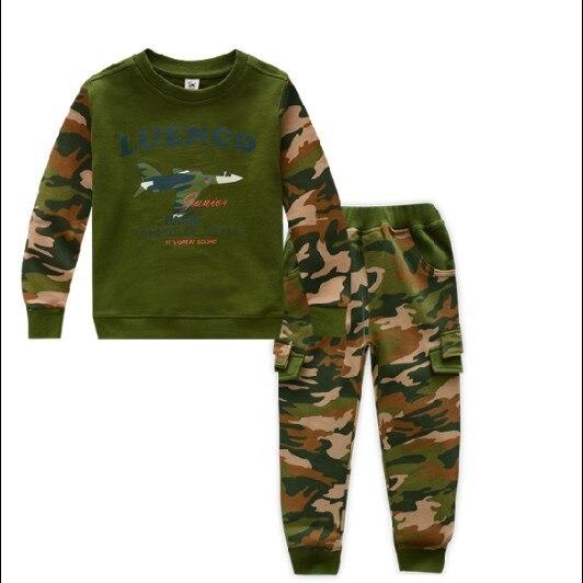 78a0e2e1d90 Hot Koop 2017 Jongens Meisjes Mode Camouflage Sport Set Kinderen Leger  Kleding Twinset Kid Militaire Uniform 2 stks Trainingspak G222 in Hot Koop  2017 ...