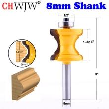 Новый 1 шт. 8 мм хвостовик бусина колонна для формования лица маршрутизатор Зенковка для деревообработки инструменты