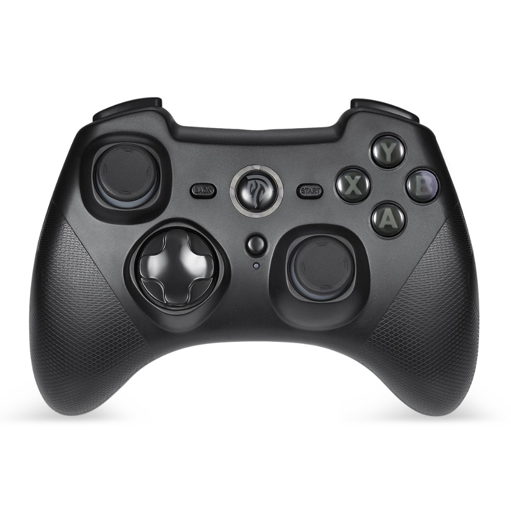 Wireless Game Controller with Double Vibration Gamepad for PS3 Console ESM-9101 Joystick For PC Xiaomi Mi TV BOX 2 4g wireless type c game controller joystick gamepad otg receiver for xiaomi android smart phone for ps3 game console 5 colors