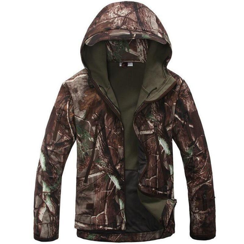 TAD5.0 Soft Shell Outdoor Waterproof SoftShell Jacket Hunting Windbreaker Ski Coat Hiking Rain Camping Fishing Tactical Clothing