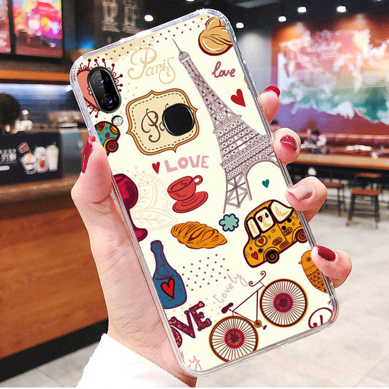 LEN1565C_1_JONSNOW Soft Case For Lenovo K5 Pro S5 Pro Painted Pudding Anti Skid Phone Cover for Lenovo A5 Capa Fundas