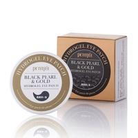 PETITFEE Black Pearl Gold Hydrogel Eye Patch 60 Pcs Gel Mask Skincare Dilute The Black Eye
