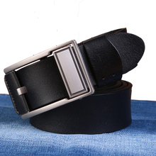 Cowhide leather belts for men luxury brand famous designer belts brand Strap male pin buckles fancy vintage jeans ceinture B28