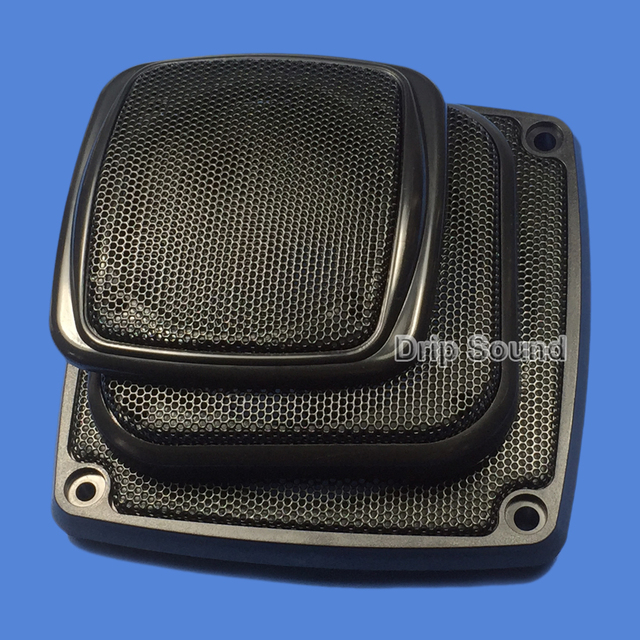 "For 3""/4""/5""/6"" inch Car Audio Speaker Conversion Net Cover Decorative Circle Metal Mesh Grille"