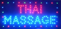 2017 Thai Massage Nerve Relax Relieve Tension Pressure Mental LED Light Sign Indoor Use