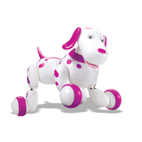 777 338 RC Robot Smart Dog 2.4G RC Intelligent Simulation Mini Dog free shipping For Kids Gift