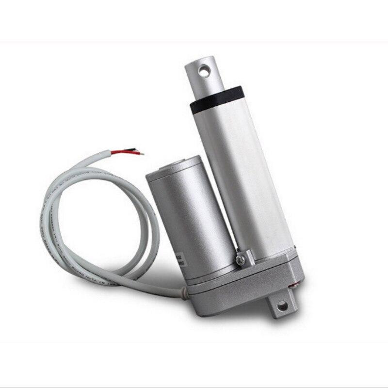 ФОТО Multi-function Linear Actuator Motor DC12V 50mm Stroke Heavy Duty 1000N 12mm/s