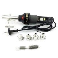 EU Stecker  Einstellbar Digitale Heißer Luft Werkzeug Heat Tool Löten Entlöten Solder Station Smd Bga 8018 Lcd-in Heißluftgebläse aus Werkzeug bei