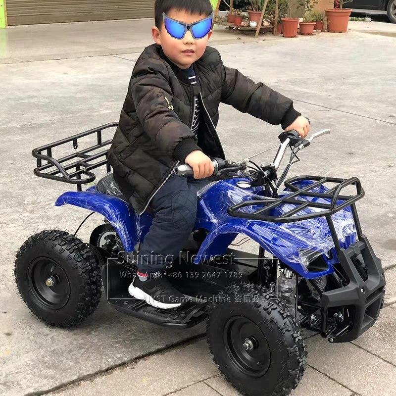 Parc d'attractions extérieur aire de jeux jouets électriques à piles ATV voiture de course adultes enfants monter sur des voitures de plage