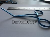 12.5cm Titanium Notched Vascular Clamp forceps Neurosurgical instrument