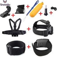 Gopro Hero Accessories Set Helmet Harness Chest Belt Head Mount Strap For Go Pro Hero 4
