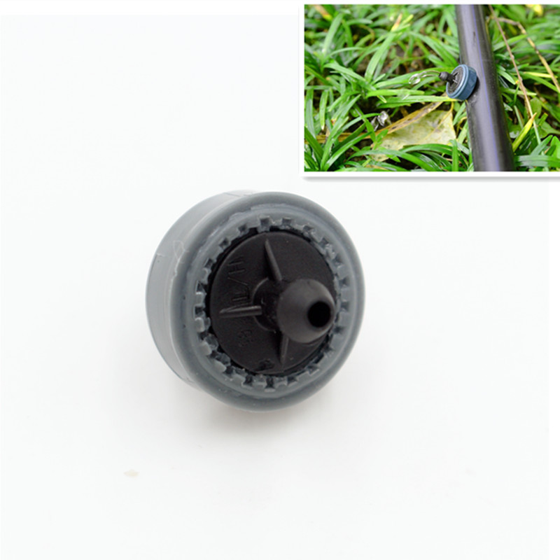 200pcs pack 4LPH Mini Pressure Compensating Drip Emitter On line Dripper PC Drip Emitter Drip Irrigation